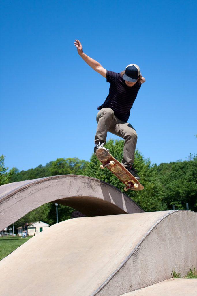mersul pe skateboard