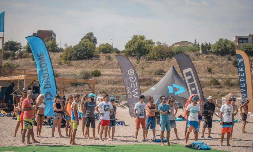Curs de Kitesurfing in Romania – Boarders a participat ca sponsor