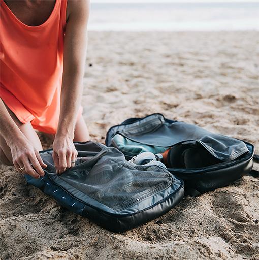Bagaj pentru mare: Lista de bagaj pentru un concediu sau o săptămână la mare