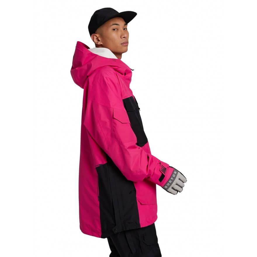 geaca snowboard barbati Burton 2L Gore tex Banshy Anorak_Punchy Pink
