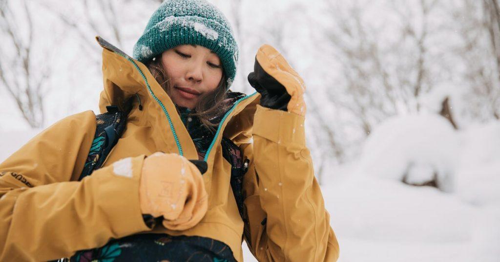 Costum snowboard dama