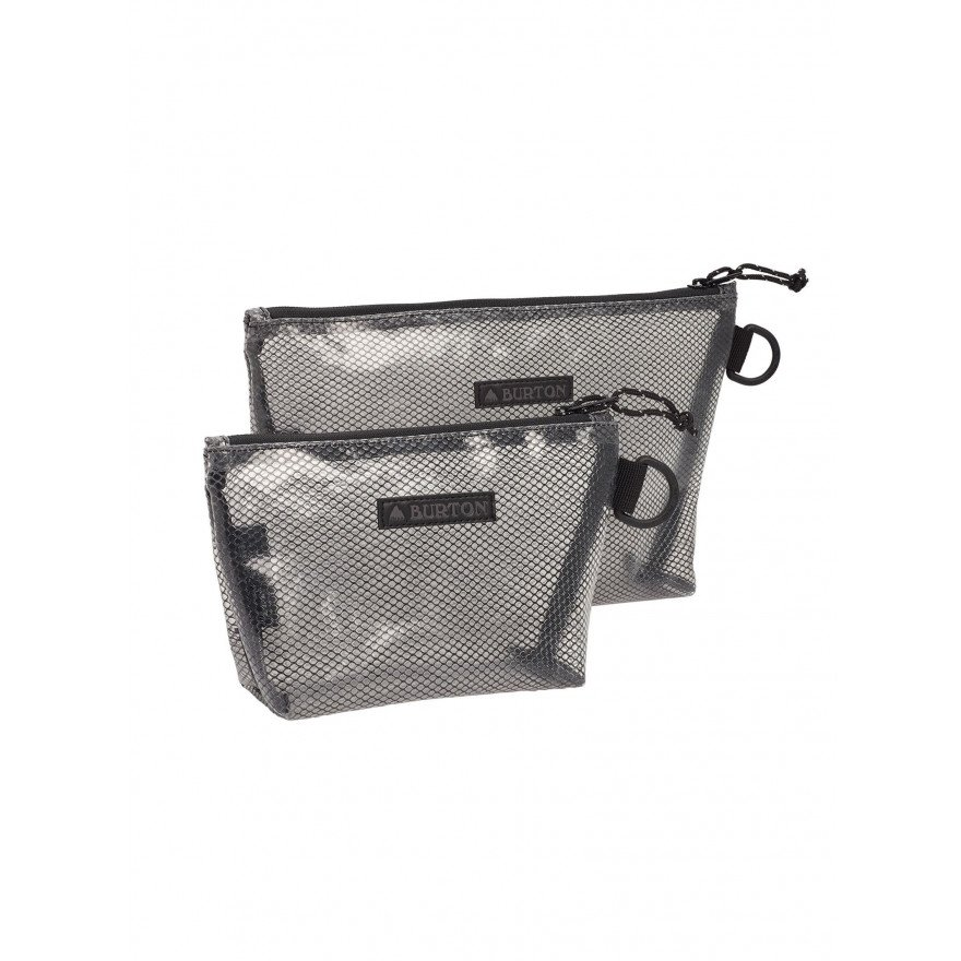 Utility Pouch Set - Clear