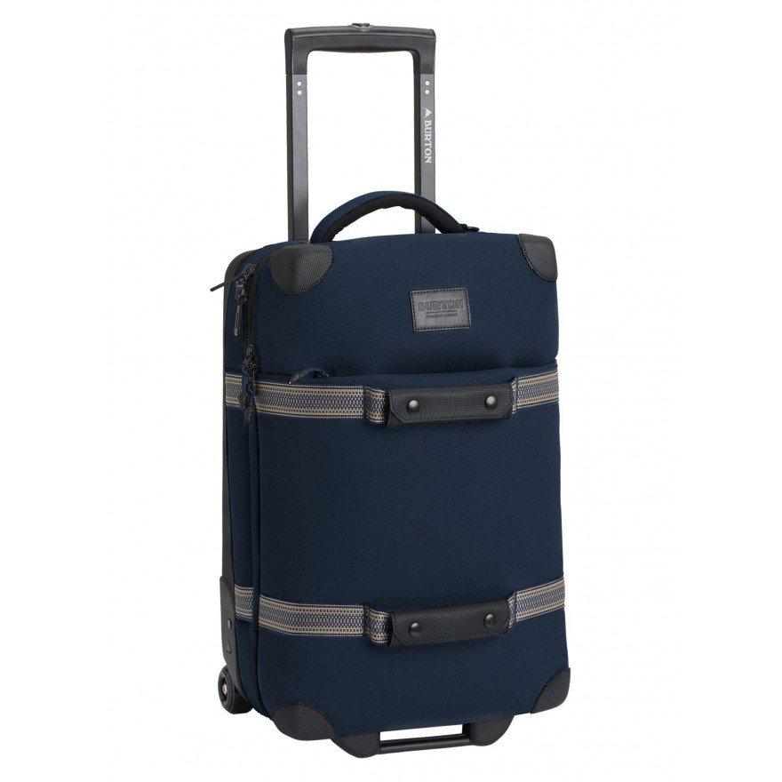 Troler Burton Wheelie Flight Deck - Dress Blue Waxed
