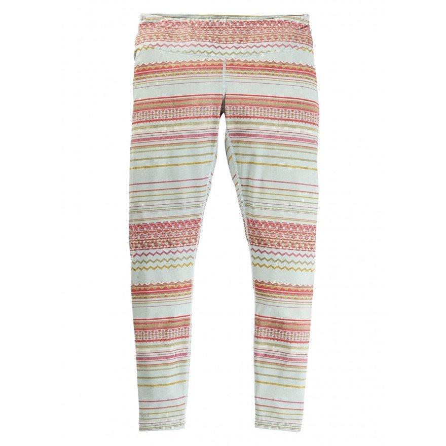 First Layer Pantaloni Burton Lightweight - Aqua Gray Revel Stripe