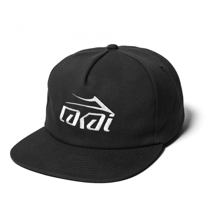 Sapca Lakai Basic Snapback - Black