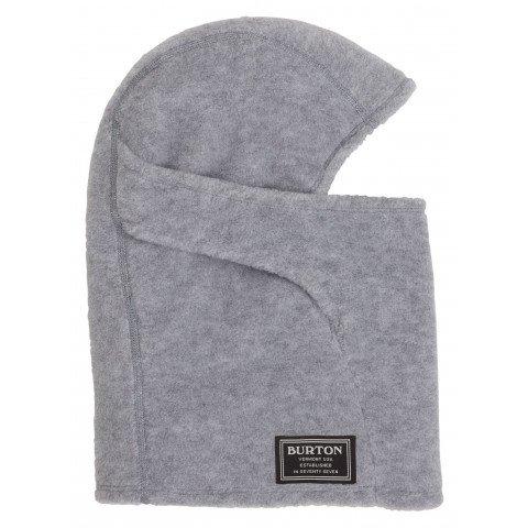 Masca Snowboard Burton Ember Fleece Clava - Gray Heather