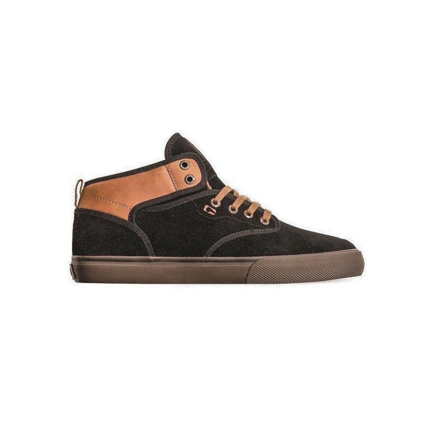 Shoes Globe Motley Mid - Black Toffee
