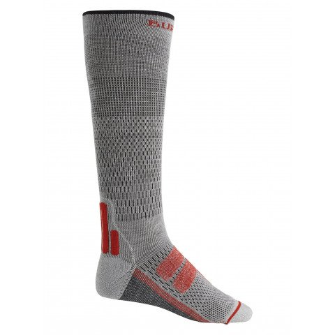 Sosete Snowboard Barbati Burton Performance Plus Ultralight Compression - Gray Heather