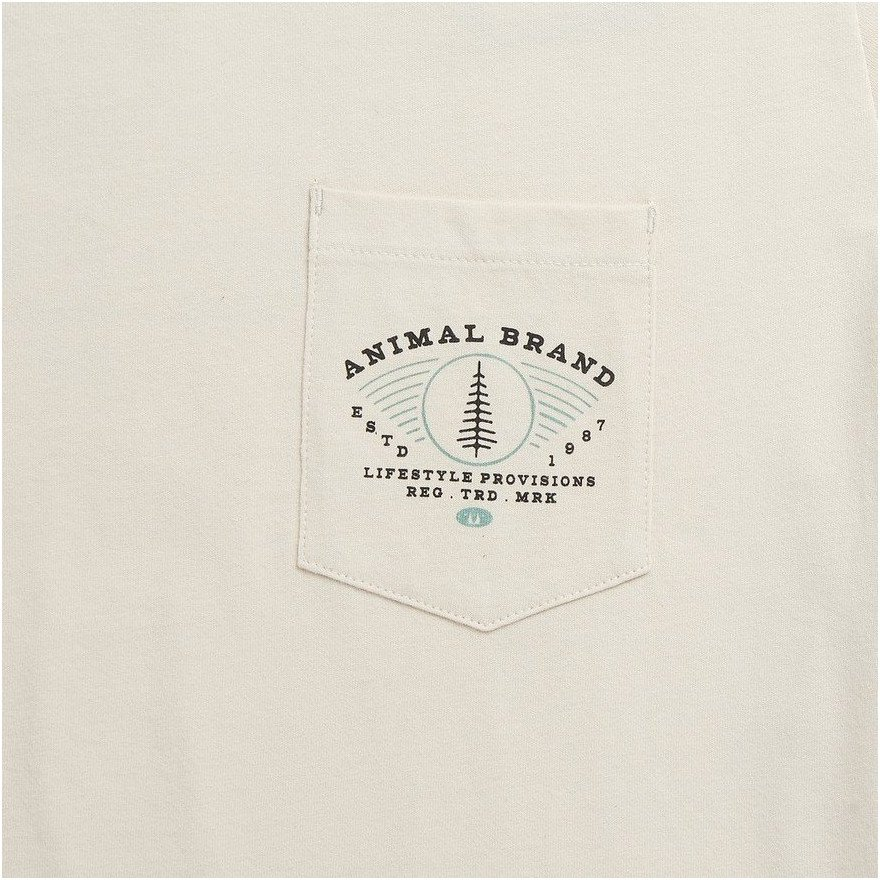 Tricou Barbati Animal Craftsman - Putty Grey