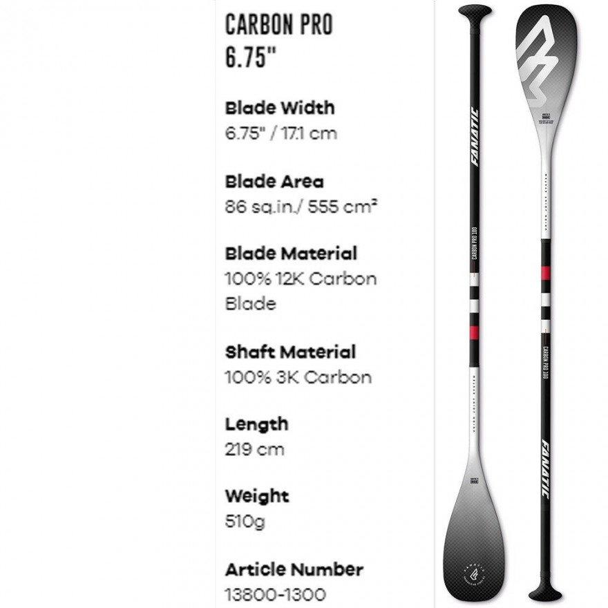 Padela SUP Fanatic Carbon Pro 100