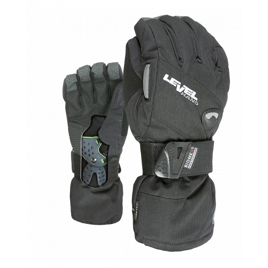 Manusi Snowboard Level Half Pipe Glv - Black