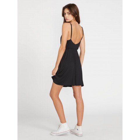 Rochie Casual Volcom Not My Luv Cami - Black