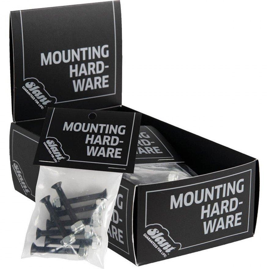 Slant Mounting - Black Silver