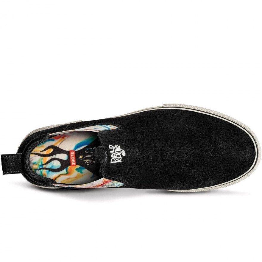 Shoes Globe Dover - Black Cream Dead Kooks