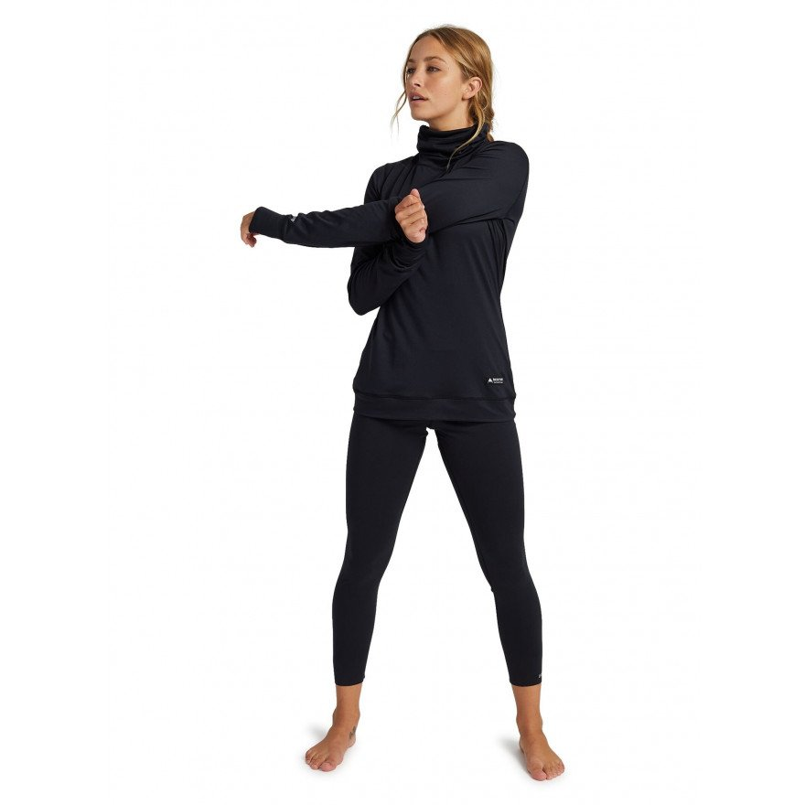 First Layer Bluza Dama Burton Midweight - True Black