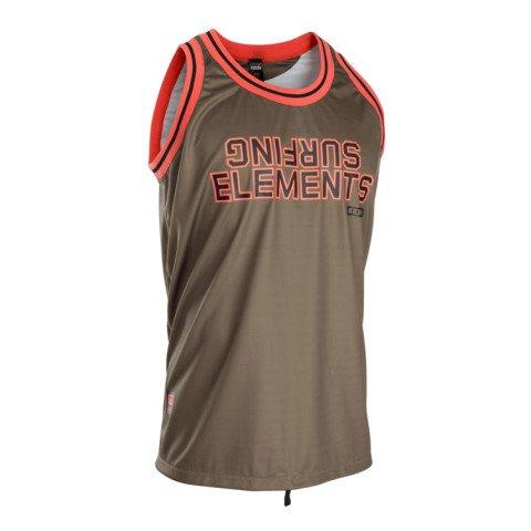 Lycra Ion Basketball Shirt - Dark Olive
