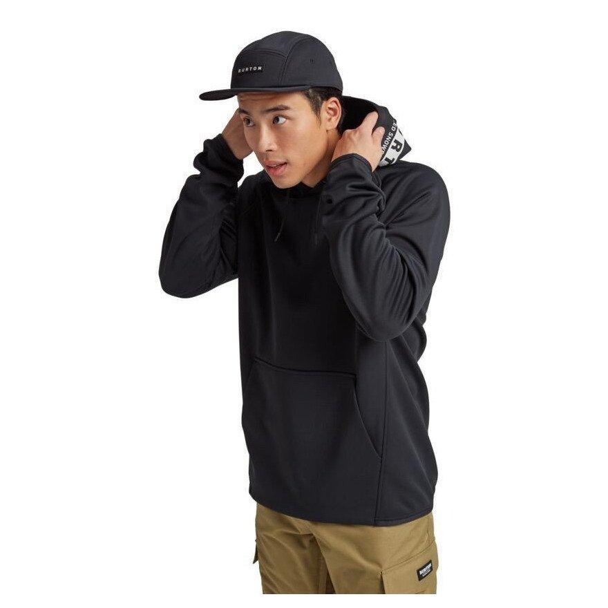 Hanorac Termal Burton Crown Weatherproof Pullover - True Black