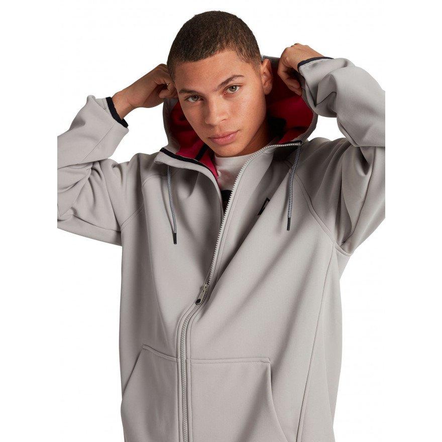 Hanorac Termal Burton Crown Weatherproof Full-Zip - Iron Gray
