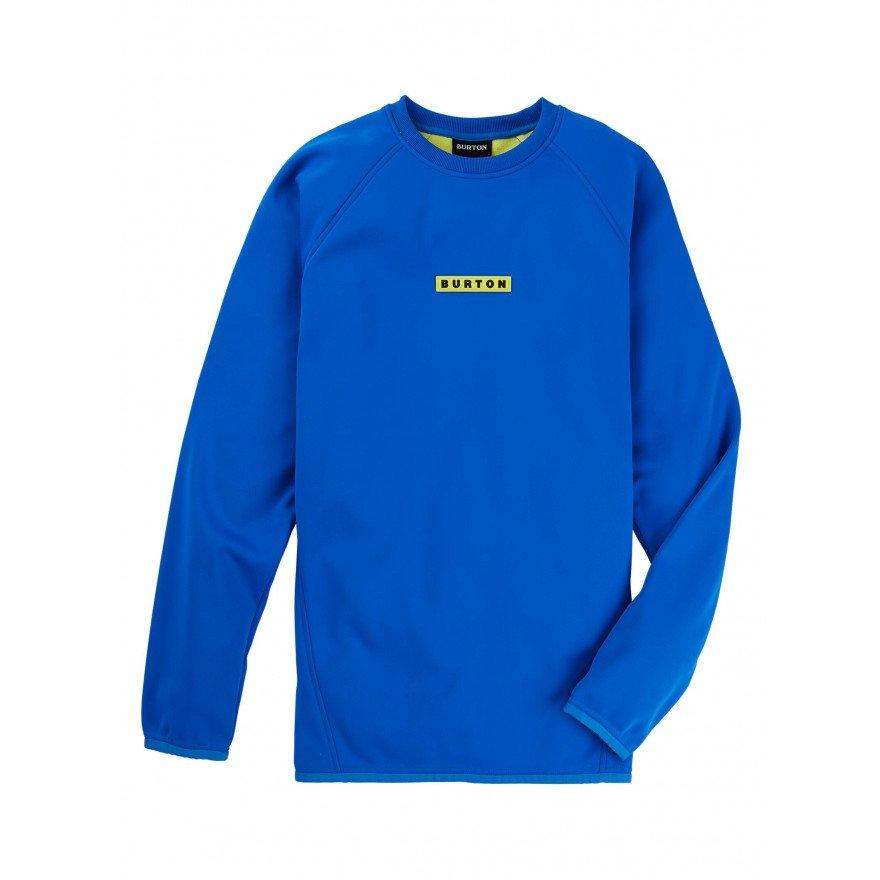 Bluza Termala Burton Crown Weatherproof Crew - Lapis Blue