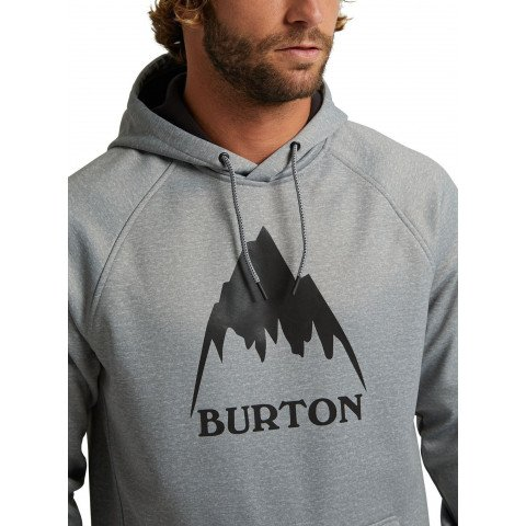 Hanorac Termal Burton Crown Weatherproof Pullover - Gray Heather