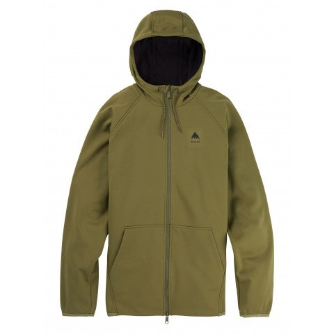 Hanorac Termal Burton Crown Weatherproof Full-Zip - Martini Olive