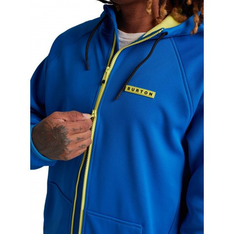 Hanorac Termal Burton Crown Weatherproof Full-Zip - Lapis Blue