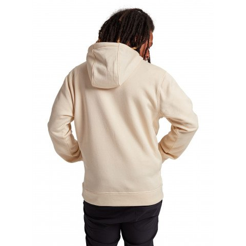 Hanorac Termal Burton Oak Pullover - Creme Brulee Heather