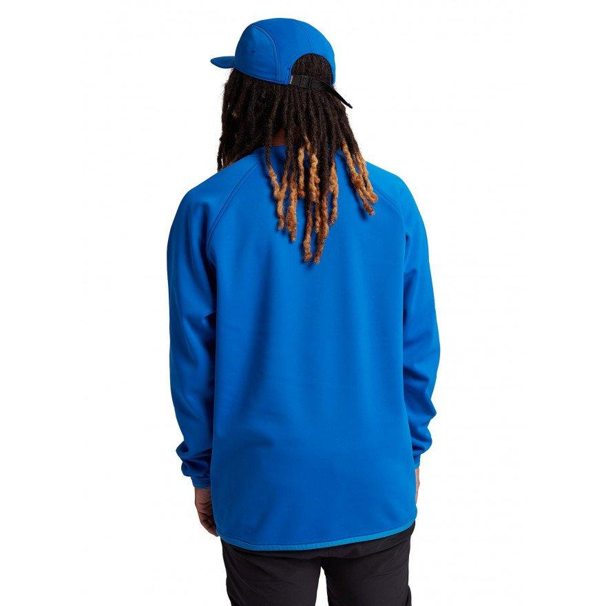 Hanorac Termal Burton Crown Weatherproof Pullover - Lapis Blue
