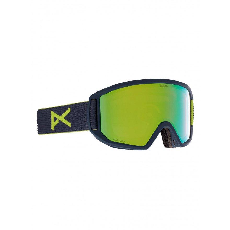 Ochelari de Snowboard Anon Relapse - Blue Split/Variable Green