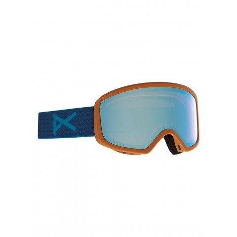 Ochelari de Snowboard Dama Anon Deringer - Blue/Variable Green