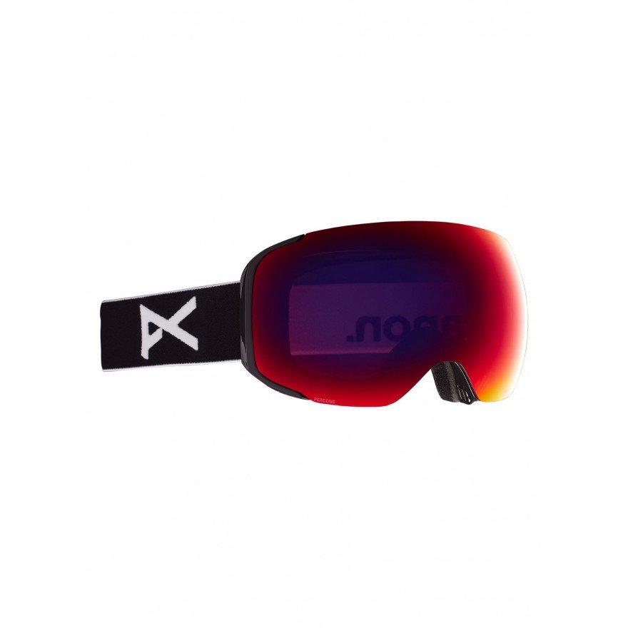Ochelari de Snowboard Anon M2 - Black/Sun Red