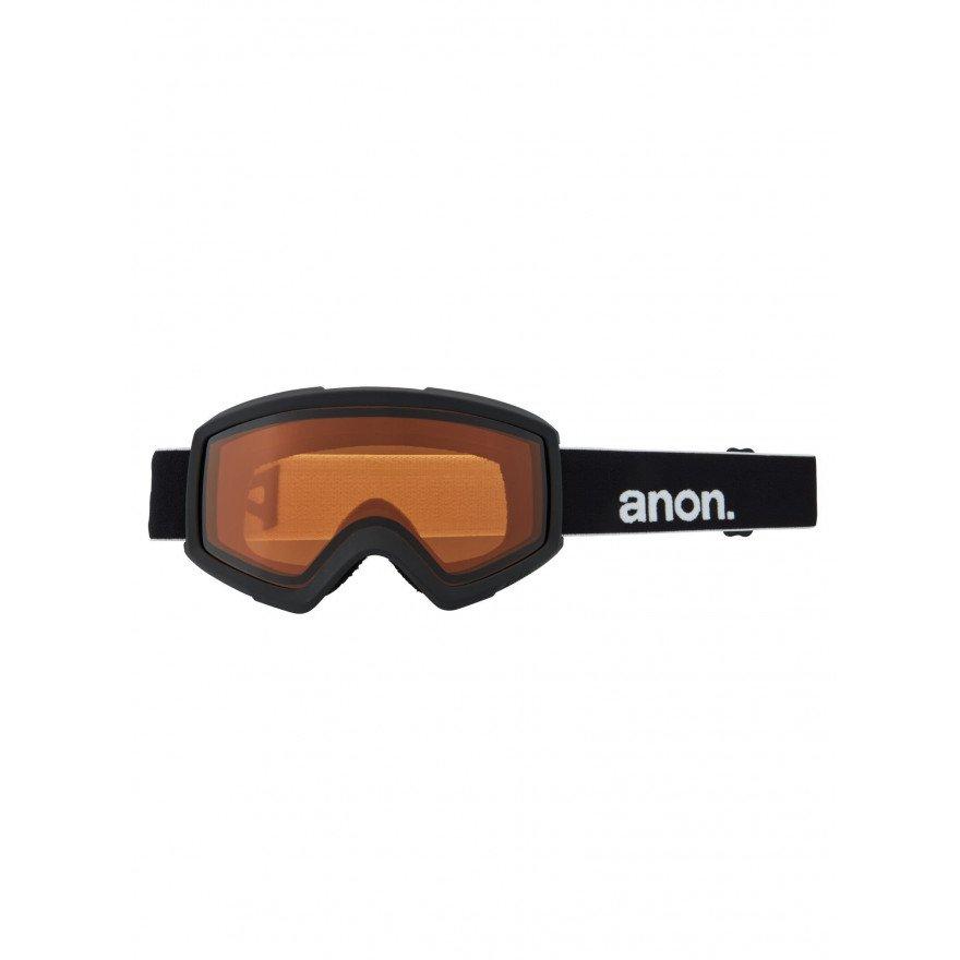 Ochelari de Snowboard Anon Helix 2.0 - Black/Sun Red