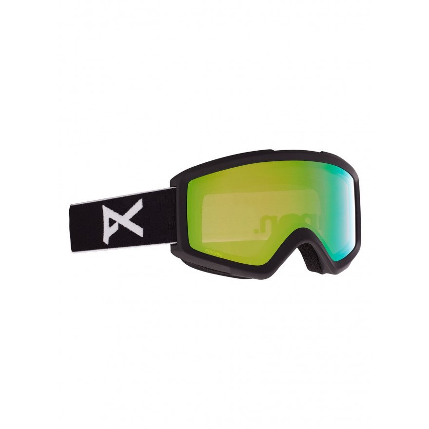 Ochelari de Snowboard Anon Helix 2.0 - Black/Variable Green