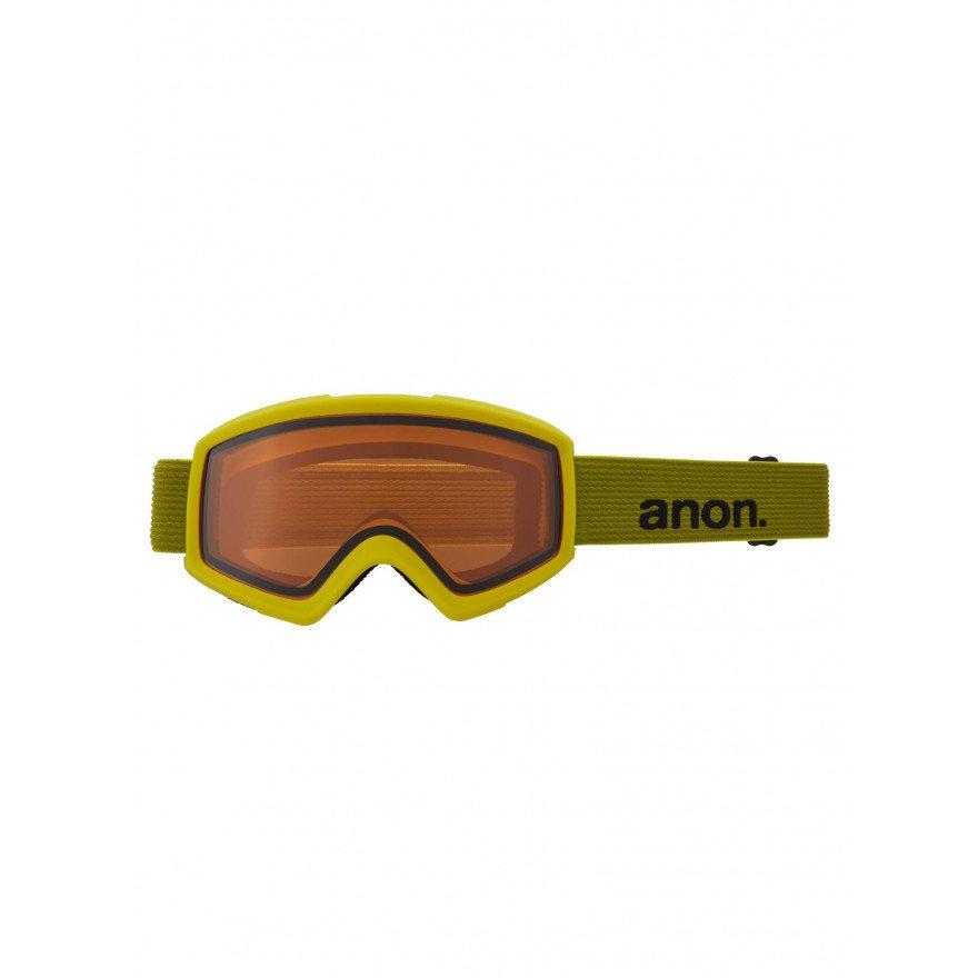 Ochelari de Snowboard Anon Helix 2.0 - Green/Sun Bronze