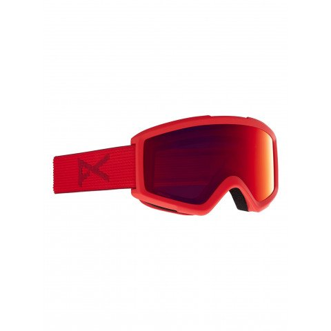 Ochelari de Snowboard Anon Helix 2.0 - Red/Sun Red