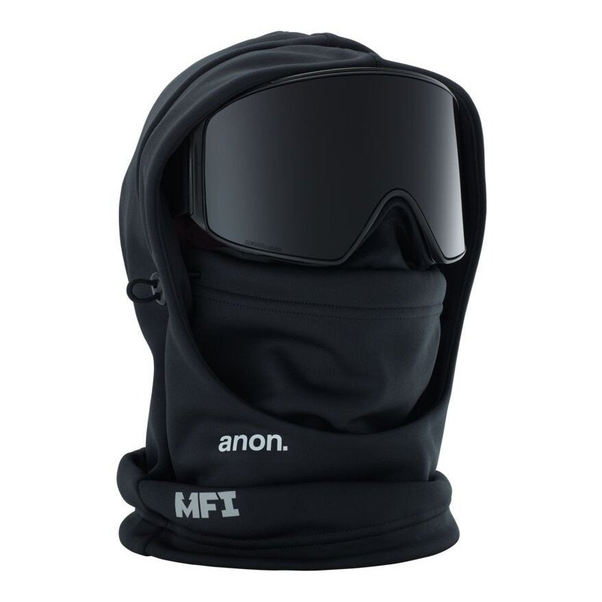 Masca Snowboard Anon Mfi Hood Clava - Black