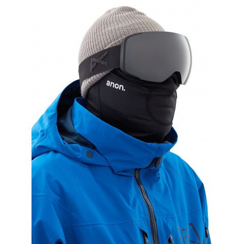 Masca Snowboard Anon Mfi Lightweight Neckwarmer - Black