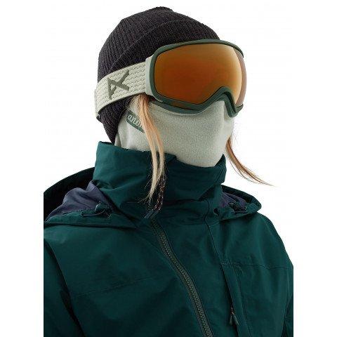 Masca Snowboard Anon Mfi Microfur Neckwarmer - Sage