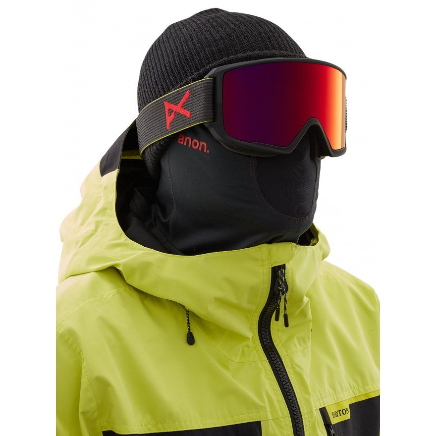 Masca Snowboard Anon Mfi Lightweight Neckwarmer - Black Pop
