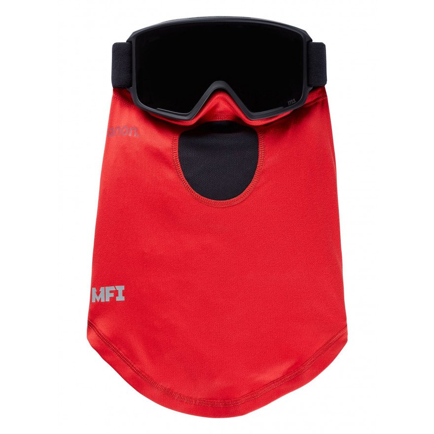 Masca Snowboard Anon Mfi Lightweight Neckwarmer - Red
