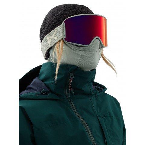 Masca Snowboard Anon Mfi Lightweight Neckwarmer - Gray