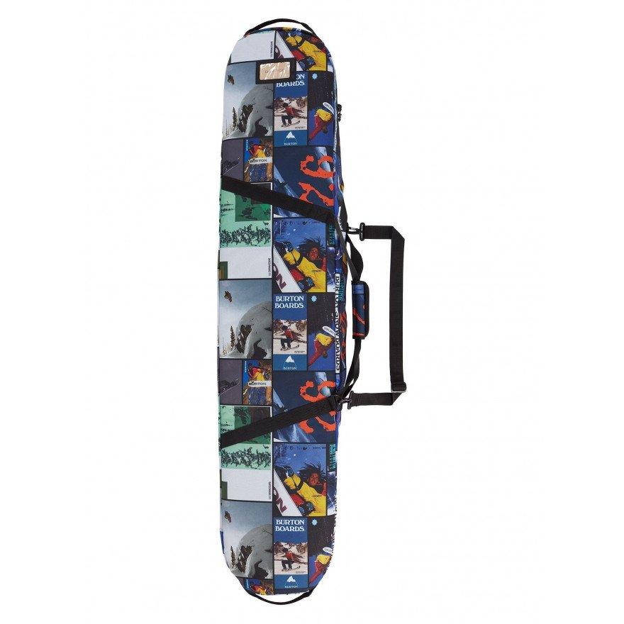 Husa Snowboard Unisex Burton Board Sack - Catalog Collage Print