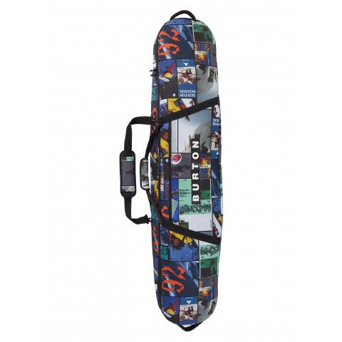 Husa Snowboard Burton Gig Bag - Catalog Collage Print
