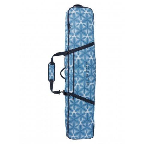Husa Snowboard Unisex Burton Wheelie Gig Bag - Blue Dailola Shibori