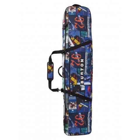 Husa Snowboard Burton Wheelie Gig Bag - Catalog Collage Print