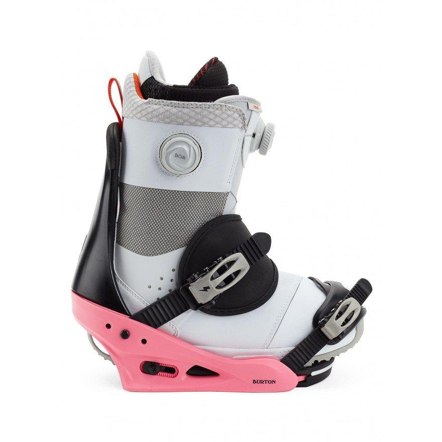 Legaturi Snowboard Burton Freestyle - Pink Black