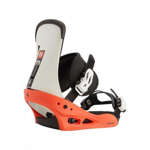 Legaturi Snowboard Burton Freestyle - White Black