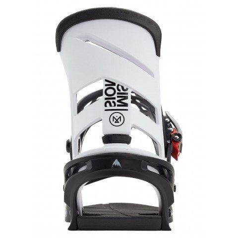 Legaturi Snowboard Burton Mission - White Black