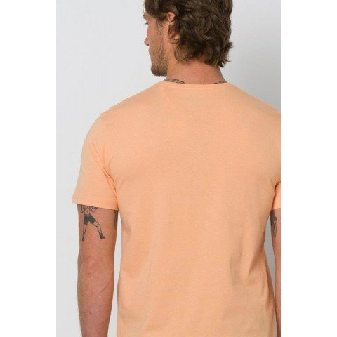 Tricou Barbati Animal Woody - Coral Sands Orange