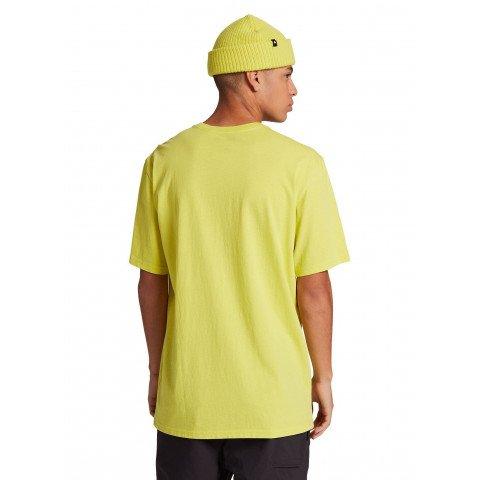 Tricou Unisex Burton Retro Mountain - Limeade